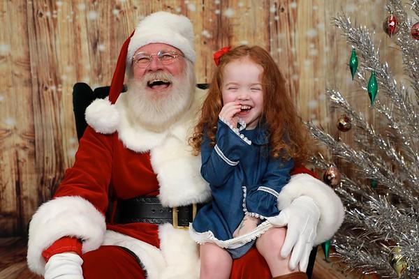 EaselTown Santa