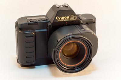 Canon T80, 1985