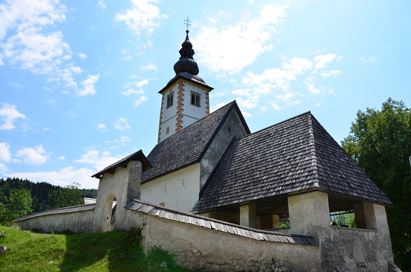 Church of St. John the Baptist. Rib