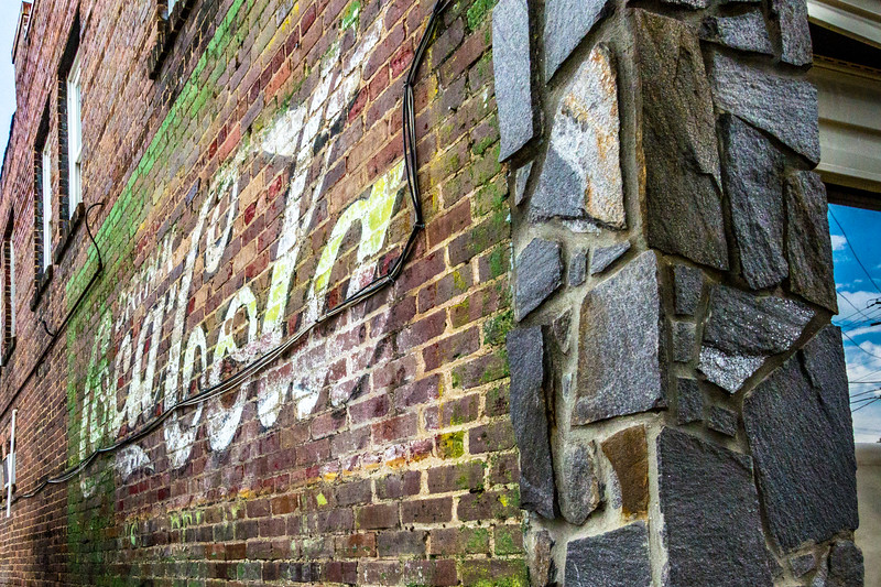 NC, Waynesville - Coca-Cola Wall Sign 03