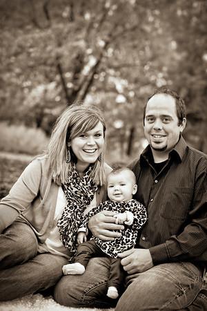 Gretchen & Justin Tillman Family- 2012