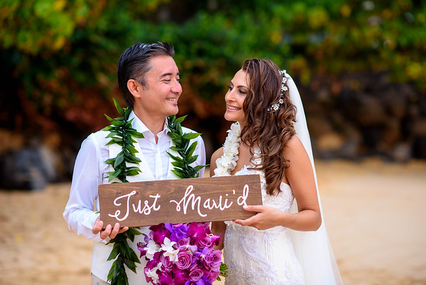 Ozturk Wedding, July 5th. 2016, Makena Cove, Maui Sneak Peek