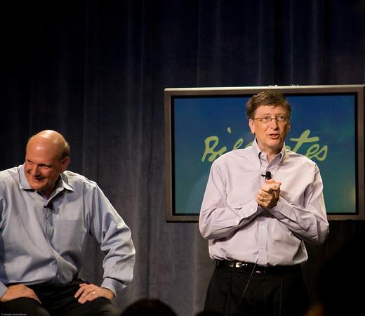 Bill Gates' farewell
