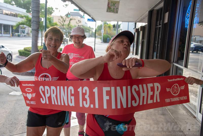 2019 Spring Faux Half Marathon