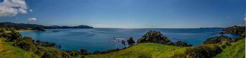 Elliot Bay und Taupiri Bay