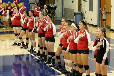 Volleyball vs Clearview 9/11/2012