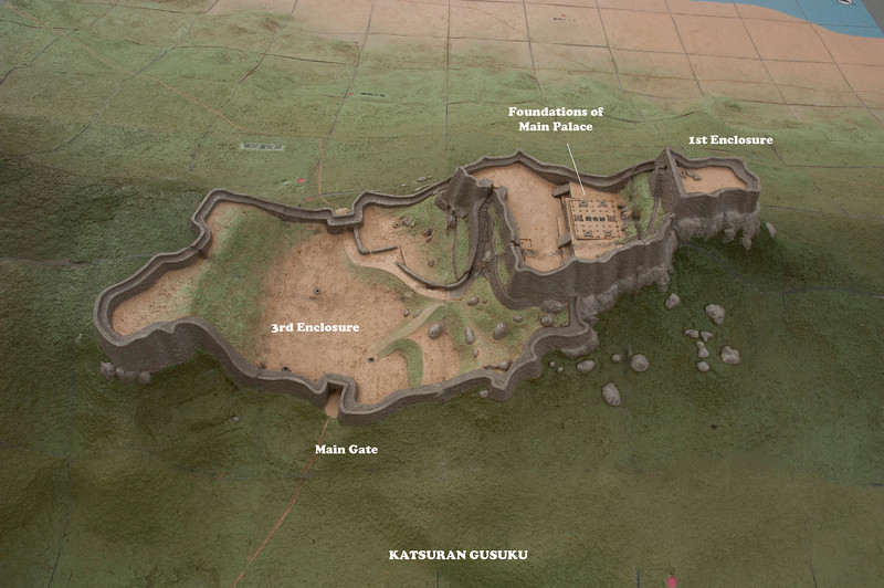 Katsuran Castle map