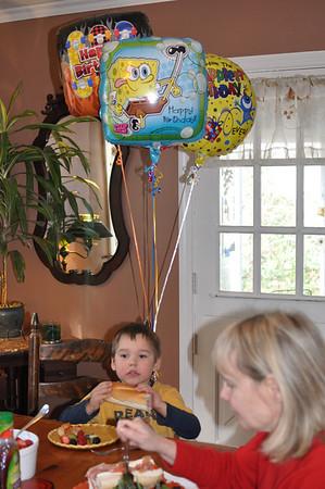 Wyatt's 4th Birthday