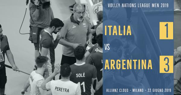 Italia 1 - Argentina 3