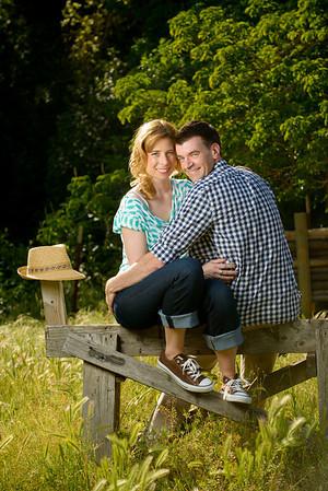 Aimee and Travis (Engagement Photography, Hidden Villa, Los Altos, California)