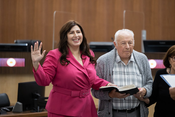 Oath of Office Ceremony April 2021
