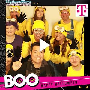 T-Mobile Halloween Boo th