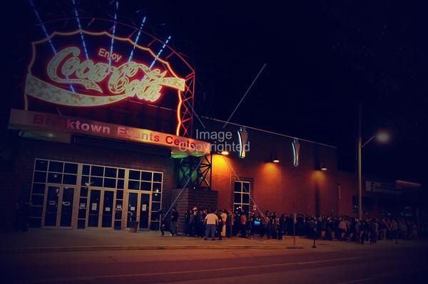 Coca~Cola Brickton Events Center, OKC, Oklahoma. New Years Eve Freakout 5, Dec 31,2011.