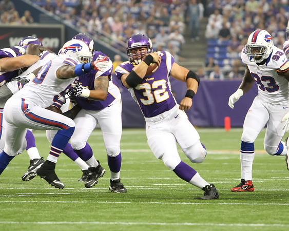 MN Vikings vs Buffalo Bills - 8/17/12