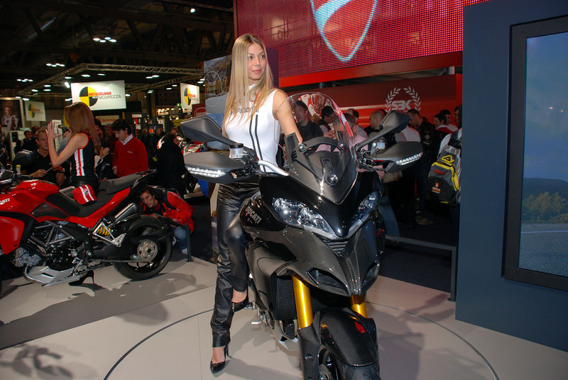Ducati Multistrada 1200 launch EIMCA motorcycle show May 2009
