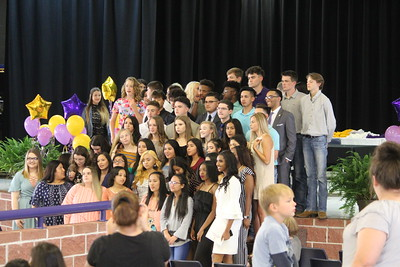 Center High School hosts National Honor Society Induction