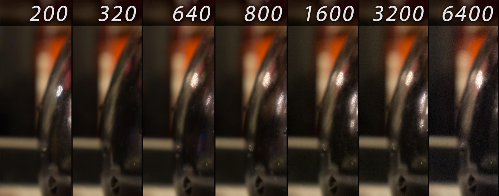 Fuji X100T ISO Test
