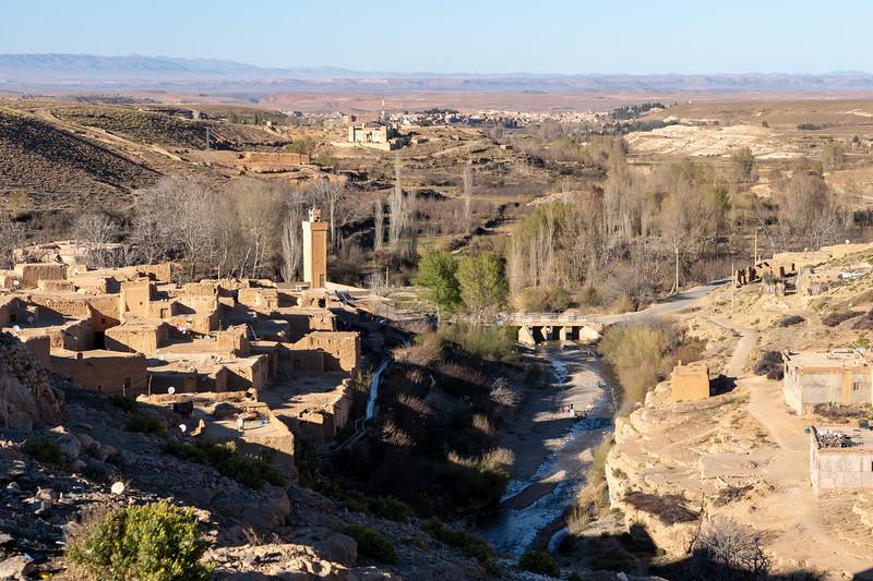 Village of Barrem in Morocco