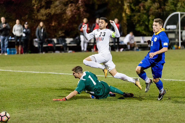2017 Seattle U Men's Soccer vs UMKC