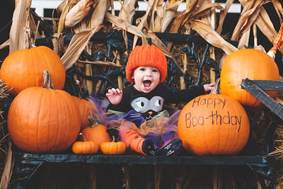 Kylie's First Boo-thday