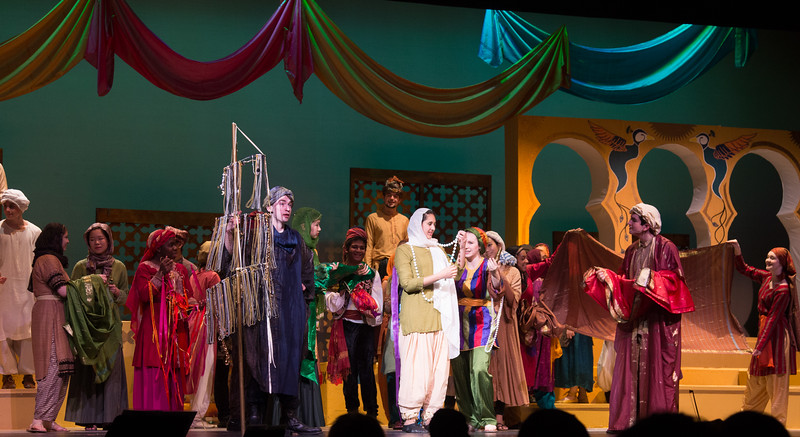 """Marsinah (""""Baubles, Bangles, and Beads"""") -- Kismet, Montgomery Blair High School spring musical, April 15, 2016 performance (Silver Spring, MD)"""