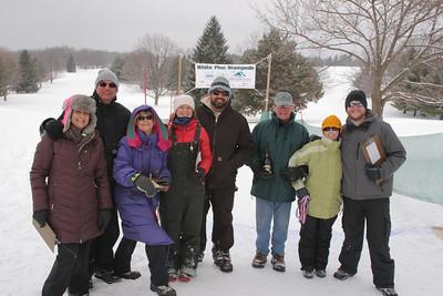 2015 White Pine 10K skiers