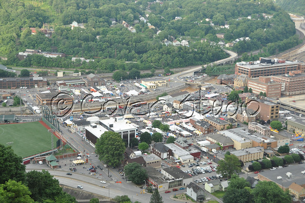View of Johnstown - Thunder in the Valley