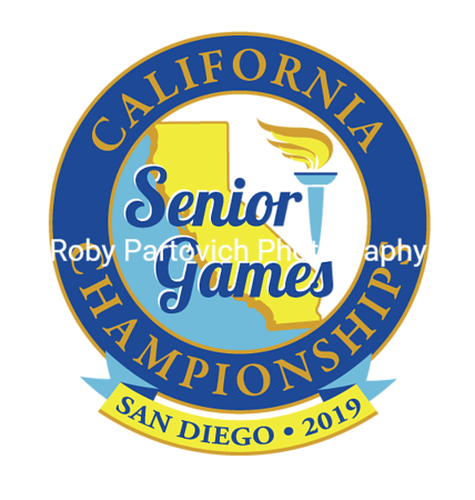2019 SD Senior Games Sunday Medals