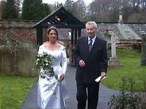 Wedding Blessing at Muncaster Castle
