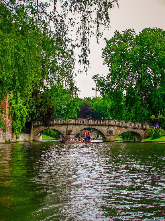 英国剑桥大学,名校风景