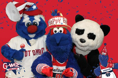 Washington Wizards Kids Day & G-Wiz Birthday Party: 3/4/2018