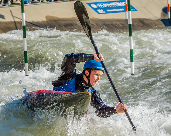 Olympic Trials, US National Whitewater Center