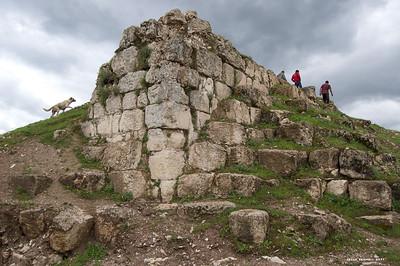 The ruins of Erzen/ Tigranakert