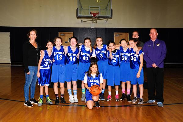 2016-17 7th Girls hoops