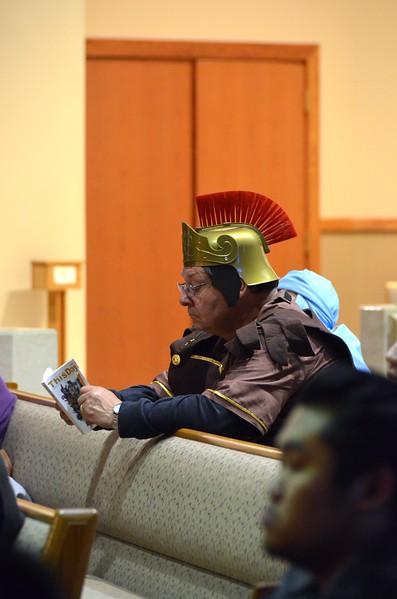 A centurion at prayer