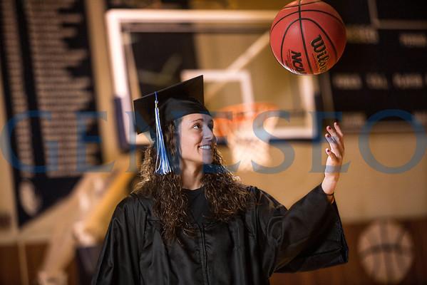 Melissa Graham, Commencement/Basketball (Spring 2013)