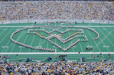 WVU vs Kent State - Halftime Formations