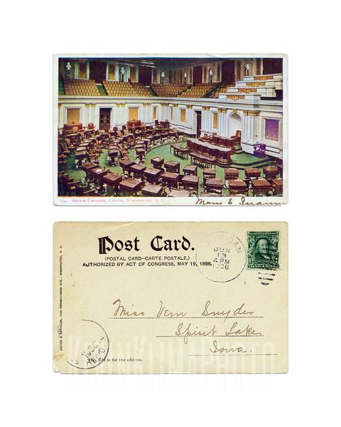Senate Chambers - 1906
