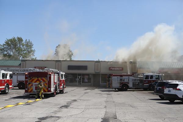 Waukegan Box Alarm Fire 2323 Grand Ave