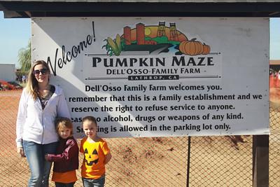 Pumpkin Farm Stockton - 2014