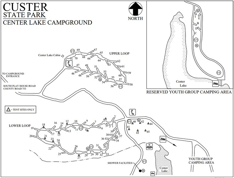 Custer State Park (Center Lake Campground)