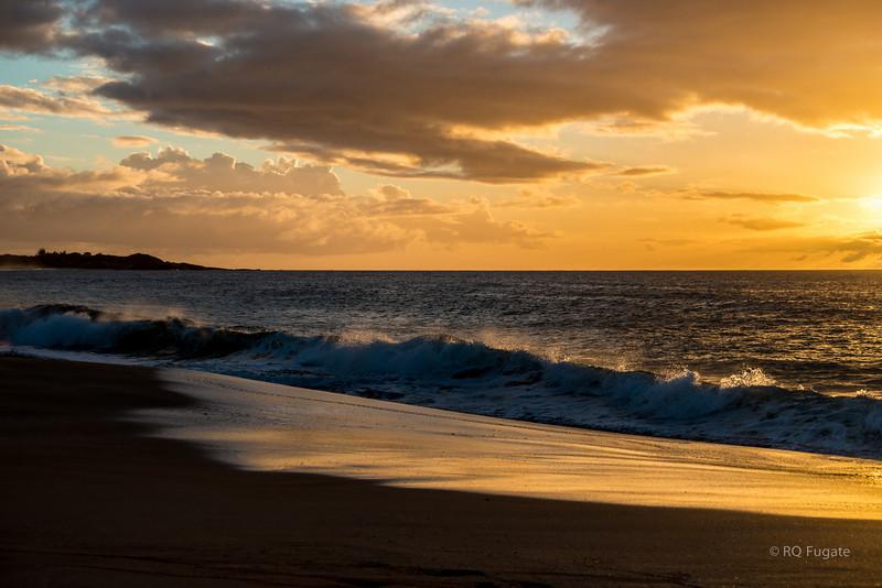 Sunset at Kepuhi Beach