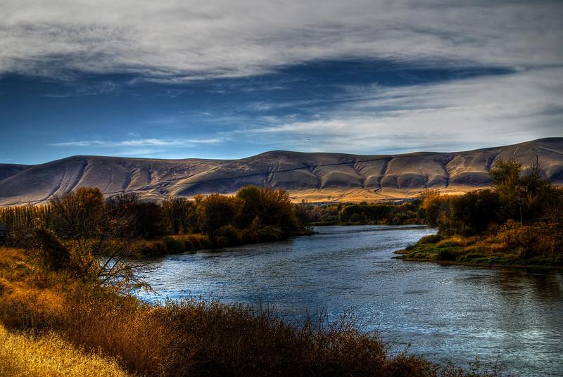 Yakima River & Horse Heaven Hills.