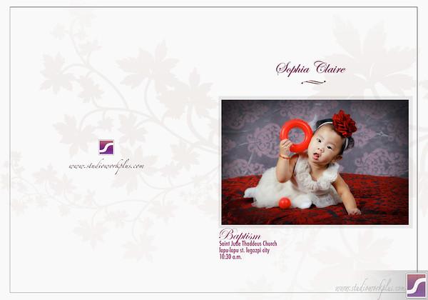 Sophia Claire Deyto Storybook Layout