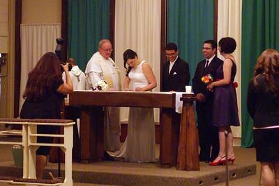 Tricia & Alex's Wedding