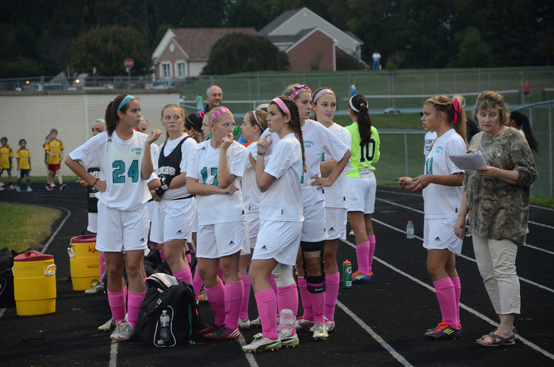 Girls Varsity Soccer October 3 vs Harford Tech