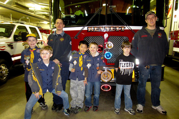 20120206 Kennett Fire Co #1 Visit