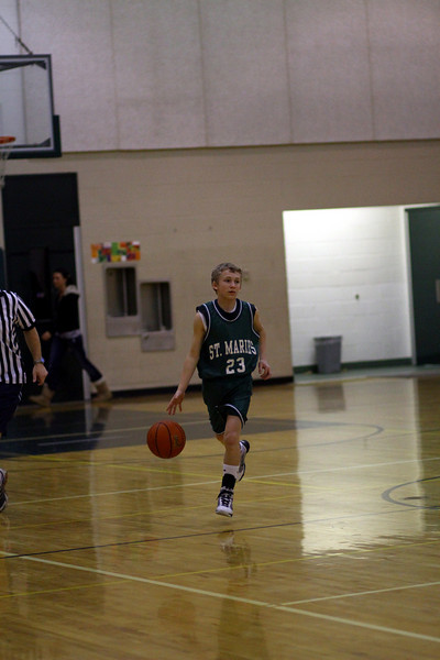 St Maries 8th grade basketball vs timberlake
