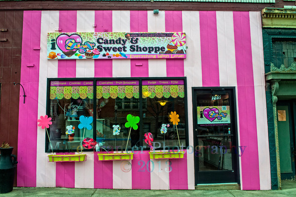 I Love Sugar Candy and Sweets Shoppe