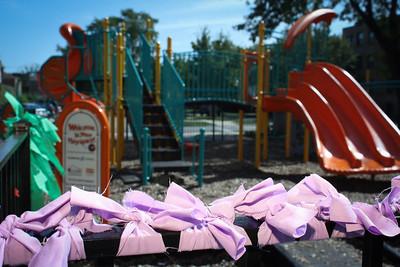 Hunter Perkins Playground Celebration